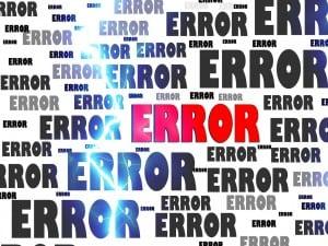 erreurs et projet d'affichage dynamique