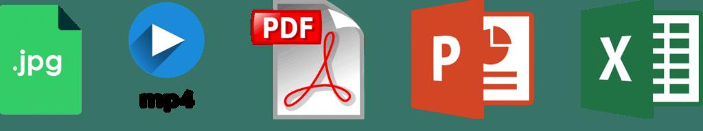 Types de contenus pour logiciel d'affichage dynamique