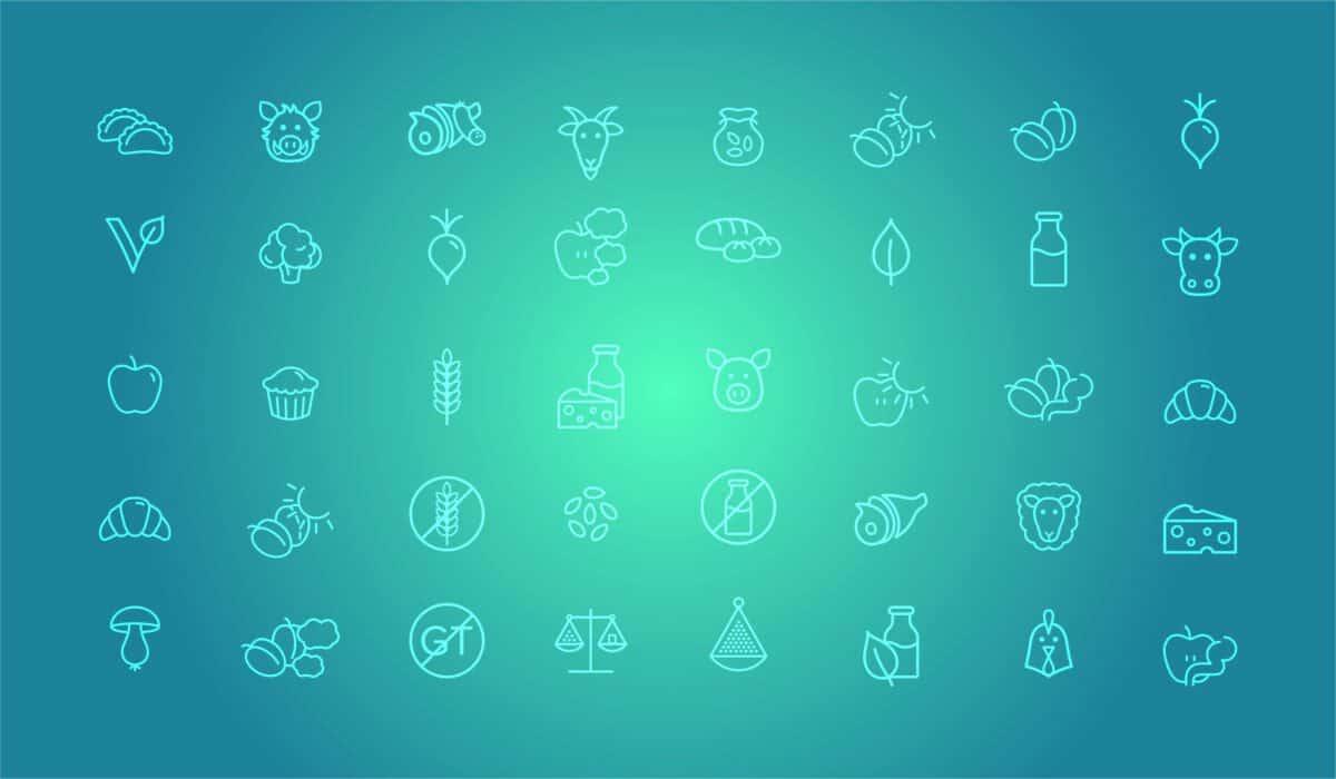 symboles pictogrammes annonce affichage dynamique